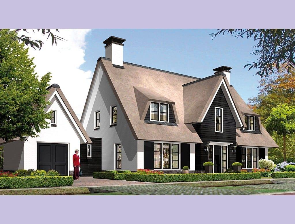 Villa koninginnenpage architectuurwonen for Moderne villabouw