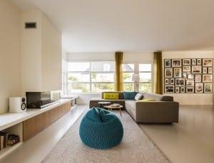 Villabouw Icarusblauwtje woonkamer