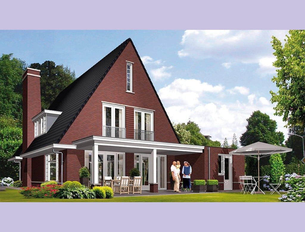 Villa icarusblauwtje architectuurwonen for Huis bouwen