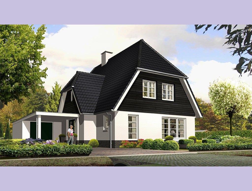 Villa groot koolwitje architectuurwonen - Buiten villa outs ...