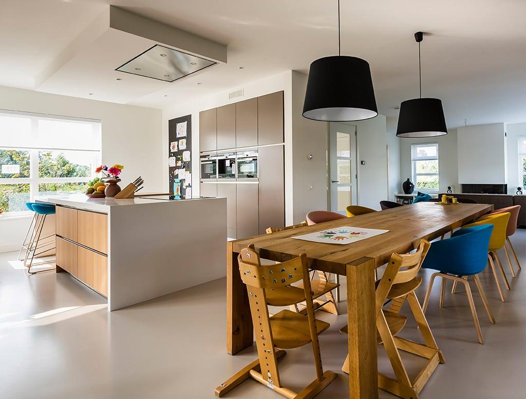 Villa lindepijlstaart architectuurwonen for Eigen keuken bouwen
