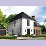 Villa bouwen Kleine Vuurvlinder voorzijde