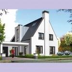 Villa bouwen Tandvlinder voorzijde