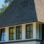 Villabouw Aurelia kozijnen met potdekselwerk