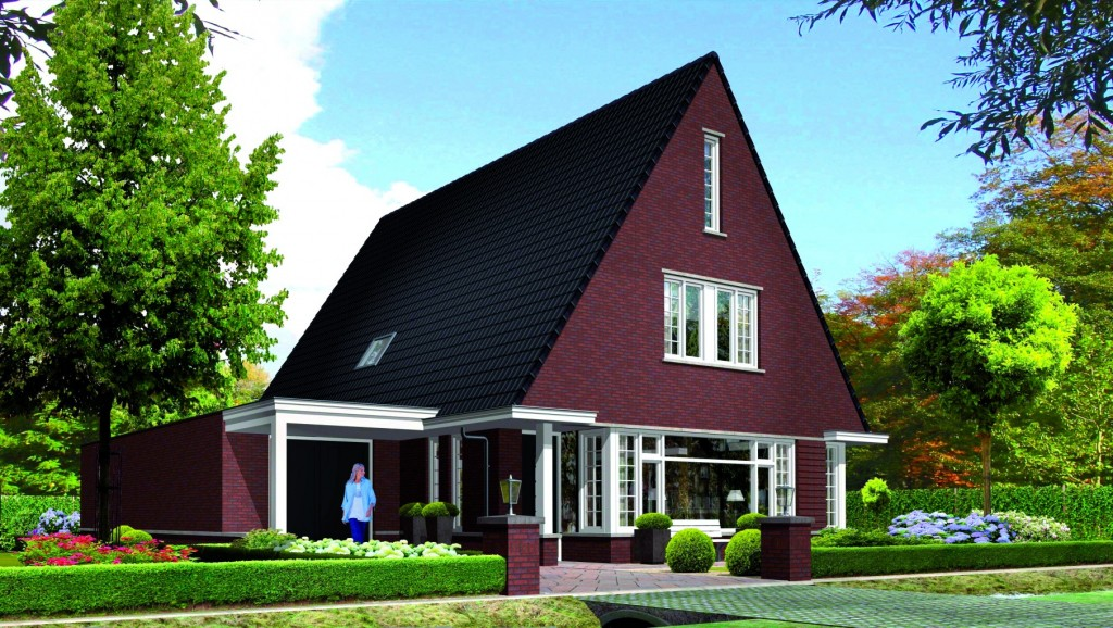 Huis bouwen Icarusblauwtje voorzijde villatypes