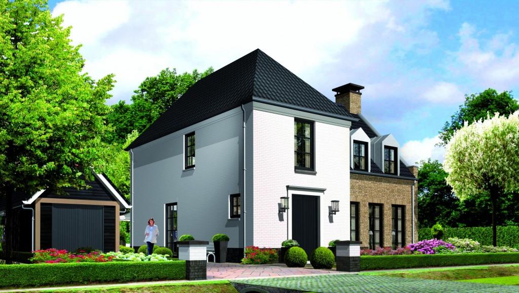 Villa bouwen Kleine Vuurvlinder voorzijde villatypes