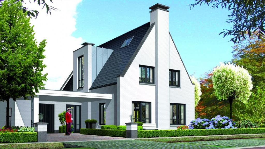 Villa bouwen Tandvlinder voorzijde villatypes