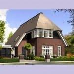 Villabouw Aurelia vergroot voorgevel