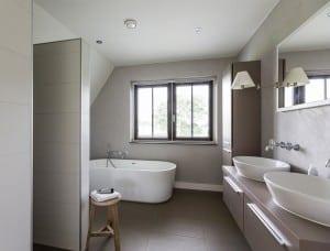 Villabouw Boswitje badkamer