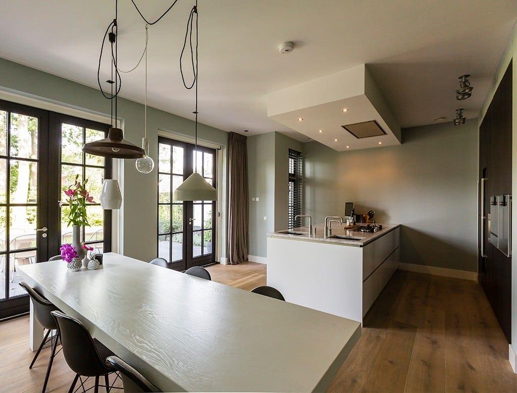 Villa boswitje architectuurwonen for Eigen keuken bouwen