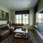 Villabouw Boswitje tv-kamer