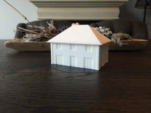 Villa Lindepijlstaart achtergevel 3d model