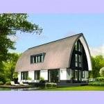Villa bouwen Porseleinvlinder impressie achtergevel