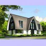 Villa bouwen Porseleinvlinder impressie voorgevel