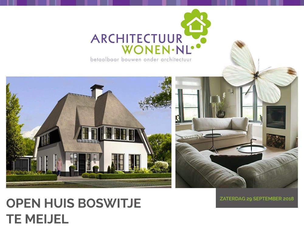 Open huis villa Boswitje te Meijel
