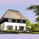 Villa Kolibrievliervlinder bouwen achtergevel